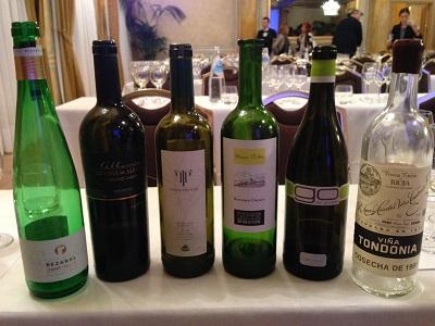 Bottiglie Vini Bianchi Spagna