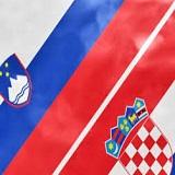 Bandiere Croazia Slovenia