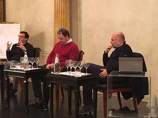 Fabio Rizzari, Armando Castagno e Gianpaolo Gravina